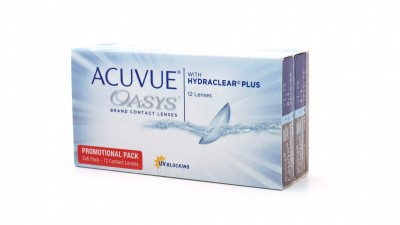 Lentilles de contact Acuvue Oasys Bi Mensuelles 12L 26,58 €