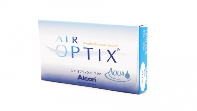 Lentilles de contact Air Optix Aqua Mensuelles 6L 22,25 €
