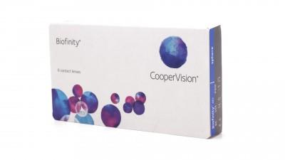 Lentilles de contact Biofinity Mensuelles 6L 16,58 €