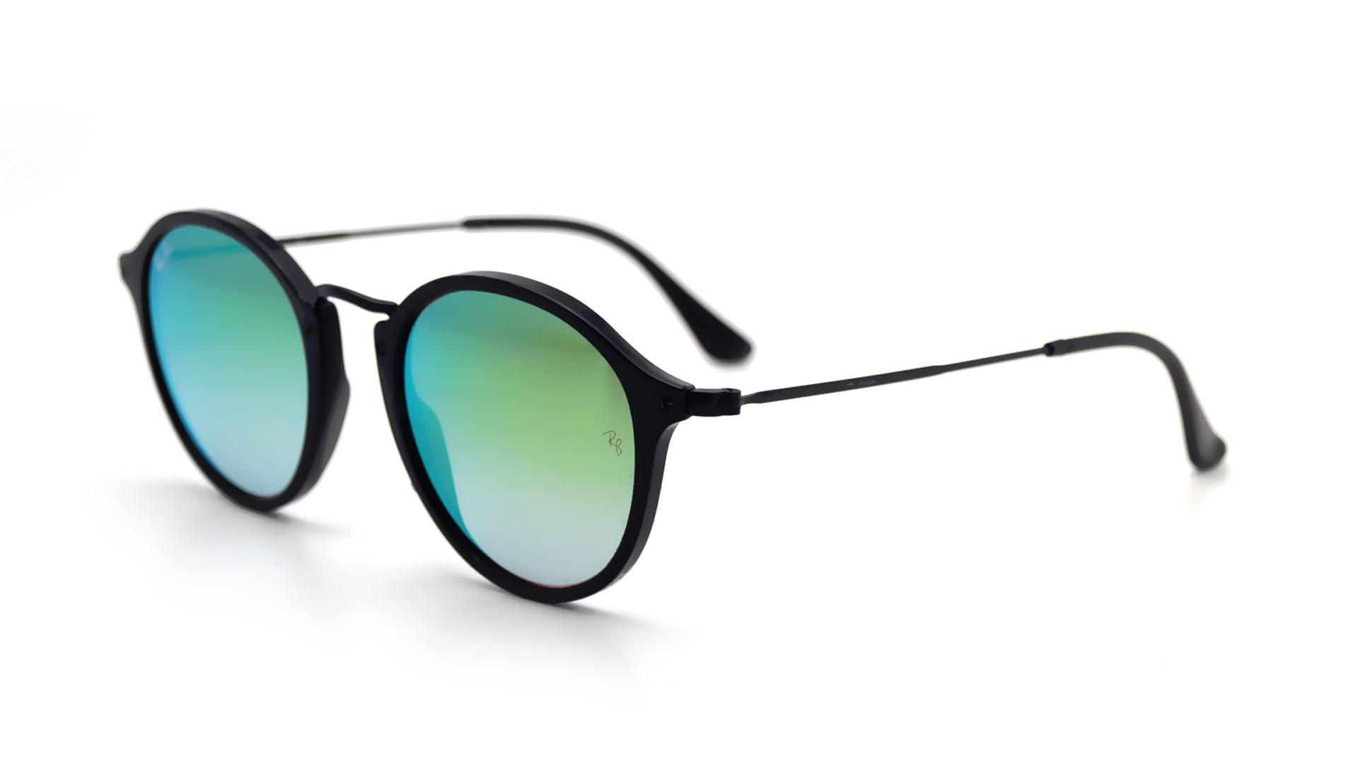 Ray ban sunglasses gradient - Ray Ban Round Fleck Black Rb2447 901 4j 49 21 Visiofactory