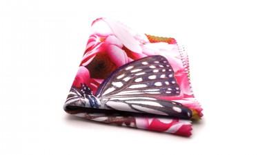 Visio microfibre romantique Papillon Rose M03 2,42 €