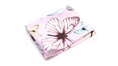 Visio microfibre papillons Rose M13 2,42 €