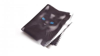 Visio microfibre chats Noir M17 2,42 €