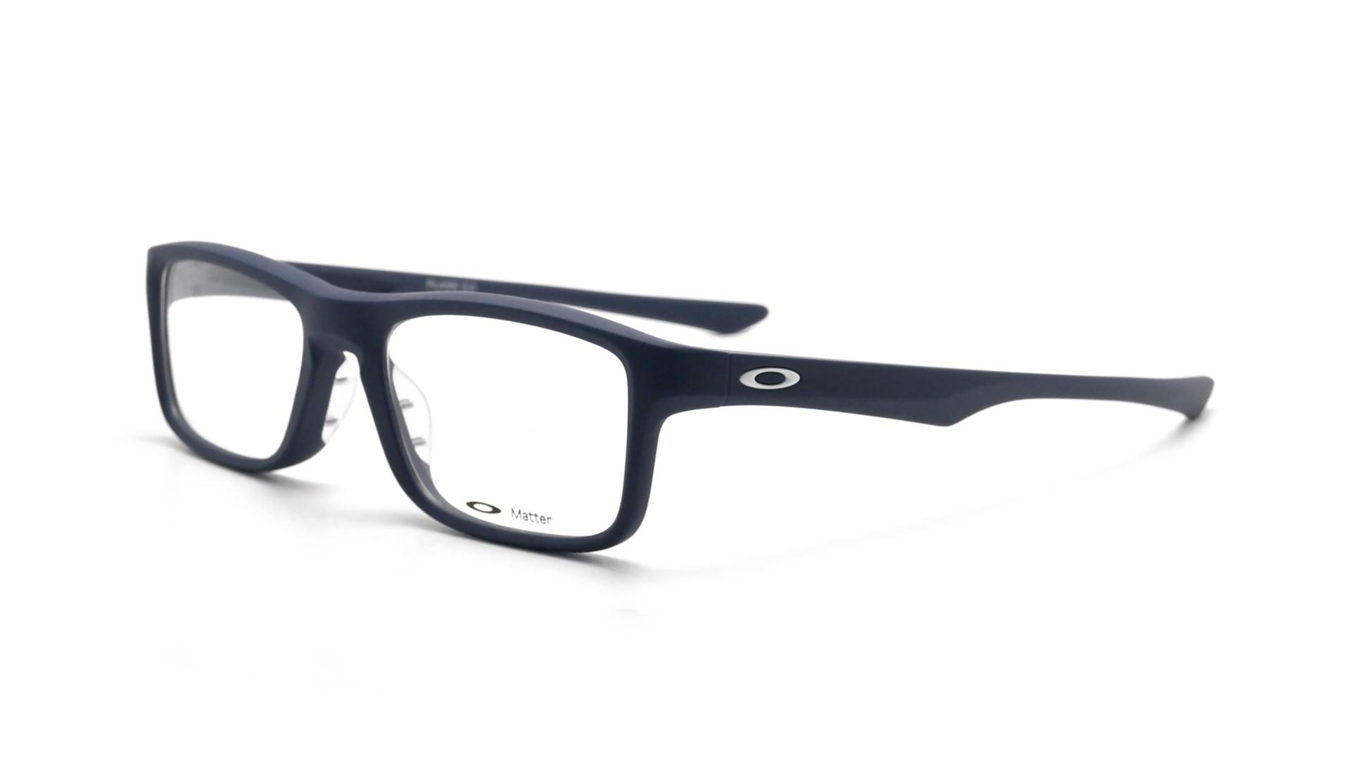 Glasses Frame En Francais : Oakley Plank 2.0 Blue OX8081 03 51-18 Visiofactory