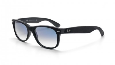 Ray-Ban New Wayfarer Black Alcantara Black RB2132 62423F 55-18 Degraded 74,92 €