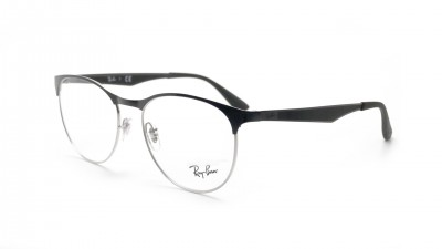Lunettes de vue Ray-Ban Clubmaster Silver/black RX6365 RB6365 2861 53-17 83,90 €