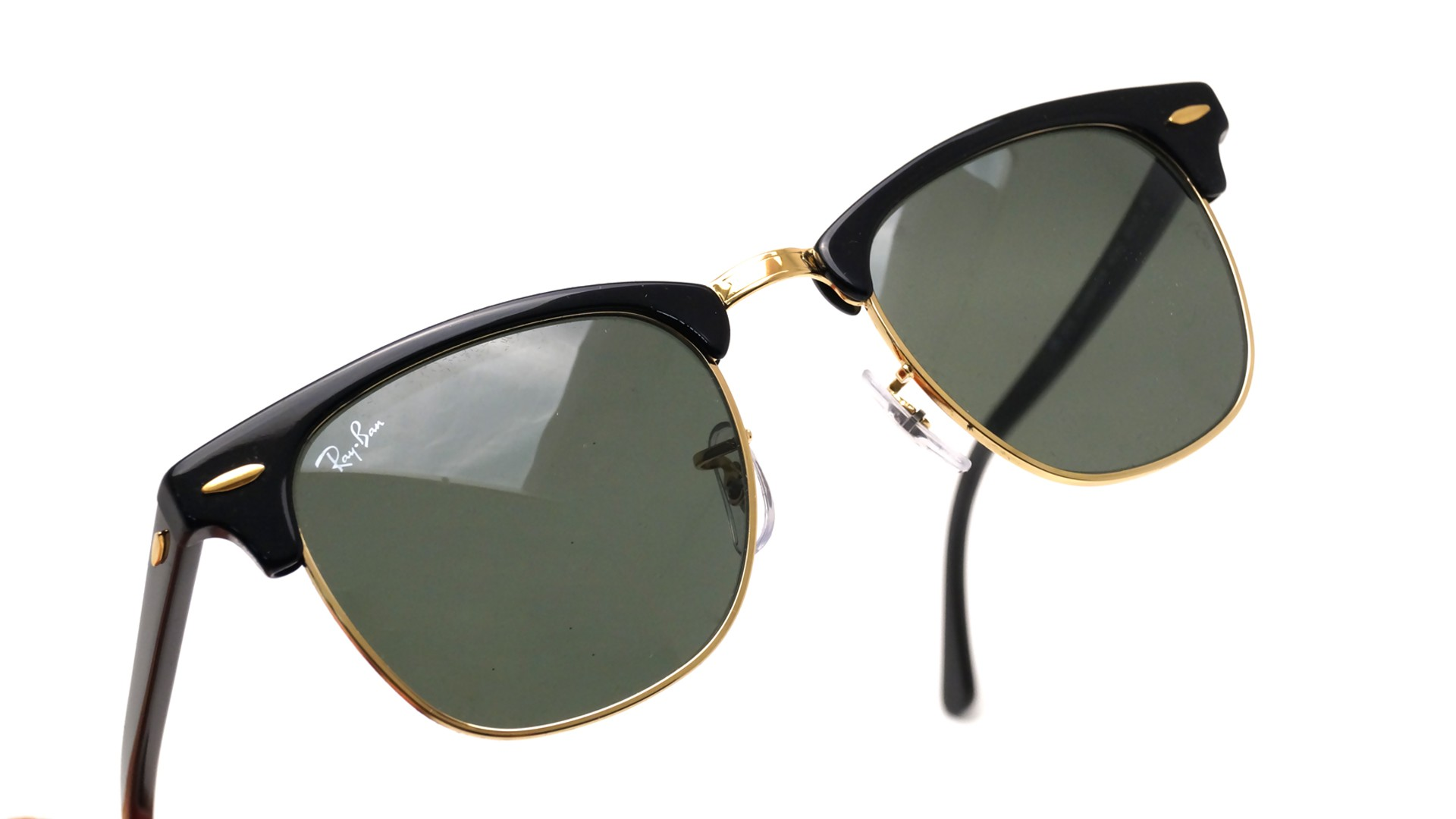 8eed595048a4 ray-ban clubmaster unisex sunglasses - black rb3016-w0365 ray bans ebay
