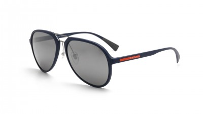 Prada Linea rossa Blue rubber Mat PS05RS TFY7W1 58-17 121,58 €