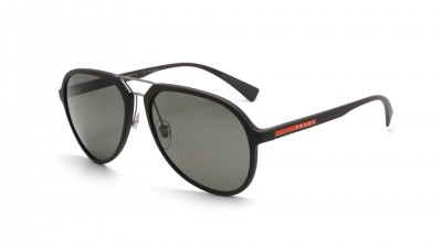Prada Linea rossa Dark brown rubber Matte PS05RS UB05X1 58-17 Polarized 146,58 €