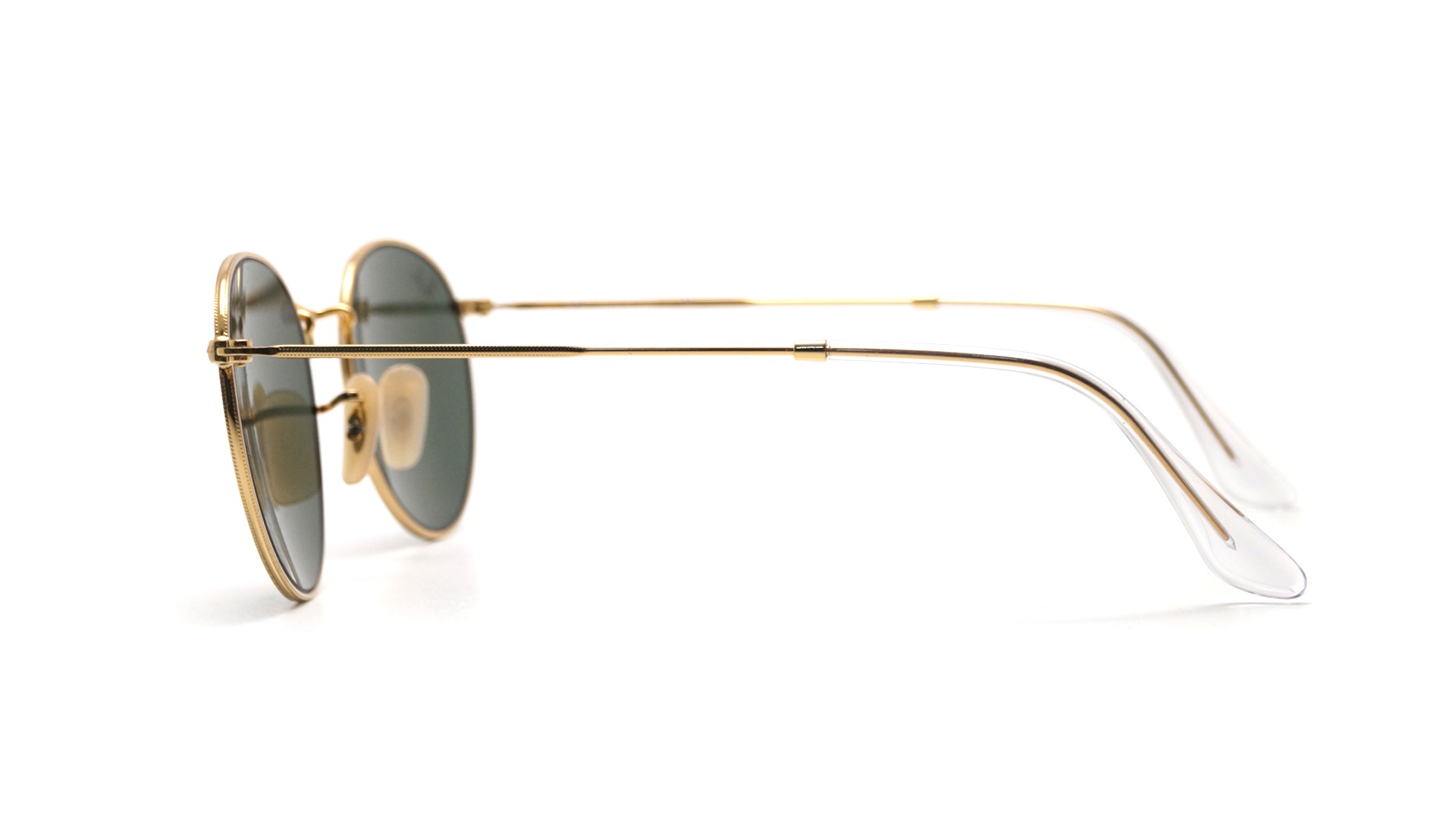 4b2a1210ce Ray Ban Round Metal Gold Rb3447
