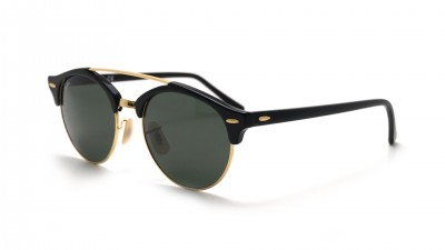 Ray-Ban Clubround double bridge Noir RB4346 901 51-19 74,92 €