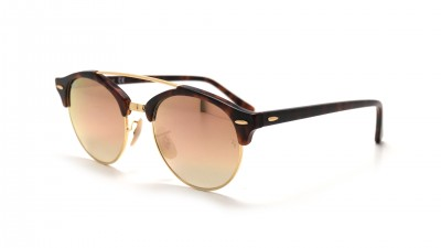 Ray-Ban Clubround double bridge Écaille RB4346 990/7O 51-19 91,58 €