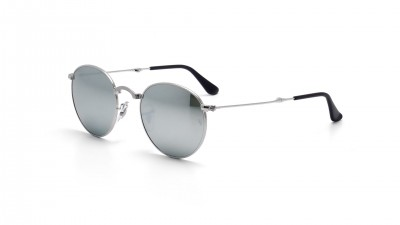 Ray-Ban Round Argent RB3532 003/30 50-20 Pliantes 108,25 €