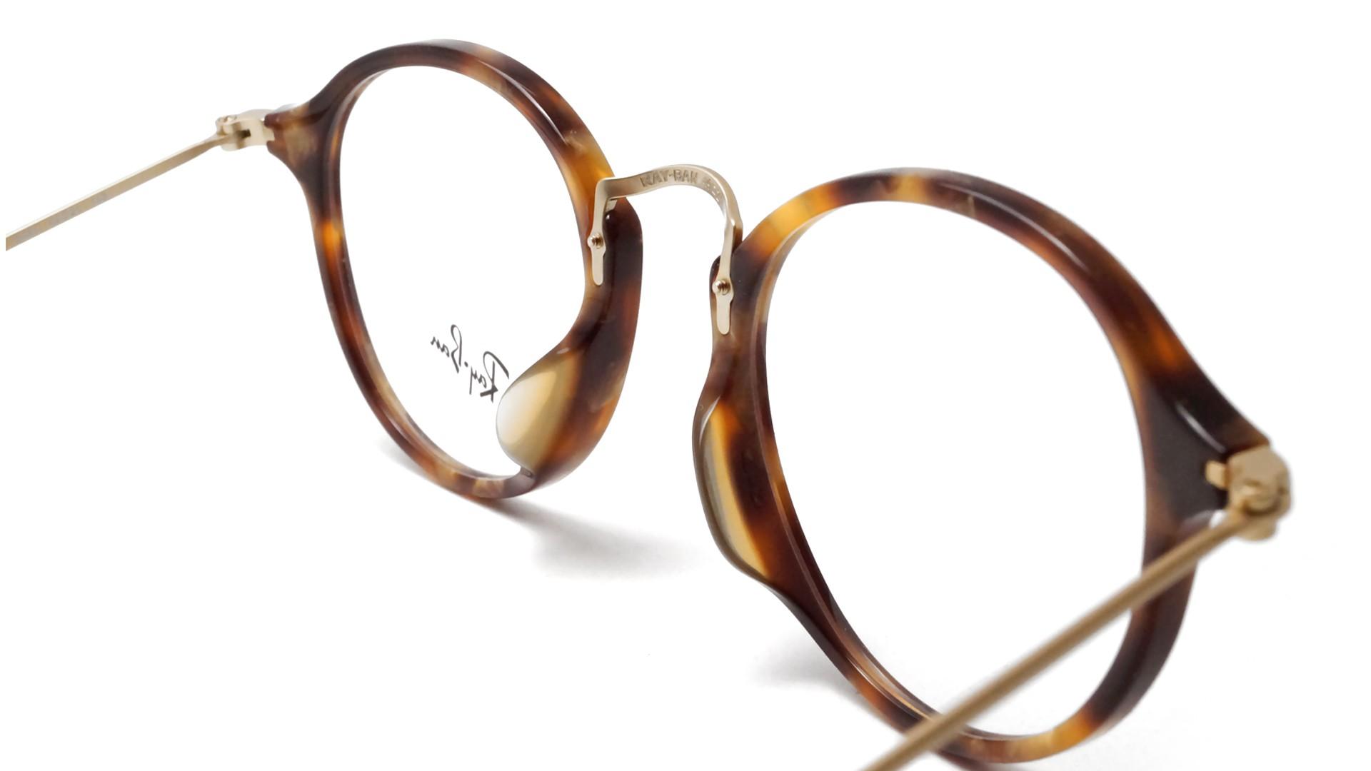 25e5e491ce Ray Ban Round Fleck Eyeglasses