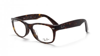 Lunettes de vue Ray Ban New Wayfarer Asian Fit Écaille RX5184 RB5184F 2012 52 18 Medium 74,92 €