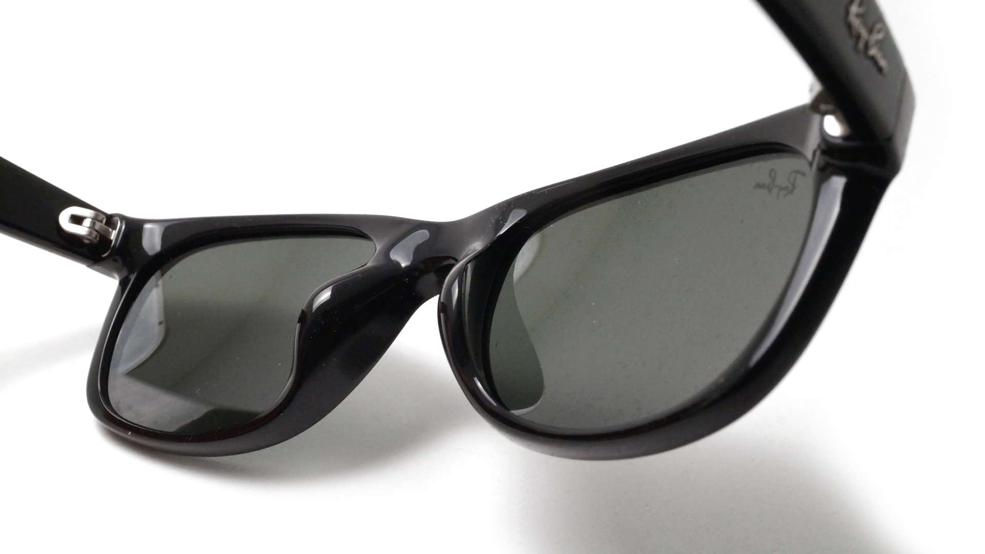 ray ban 901  Ban New Wayfarer Asian Fit Black G15 RB2132F 901 52 18