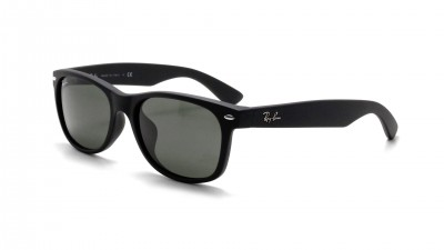 Ray Ban New Wayfarer Asian Fit Black Mat G15 RB2132F 622 55 18 Large 69,92 €