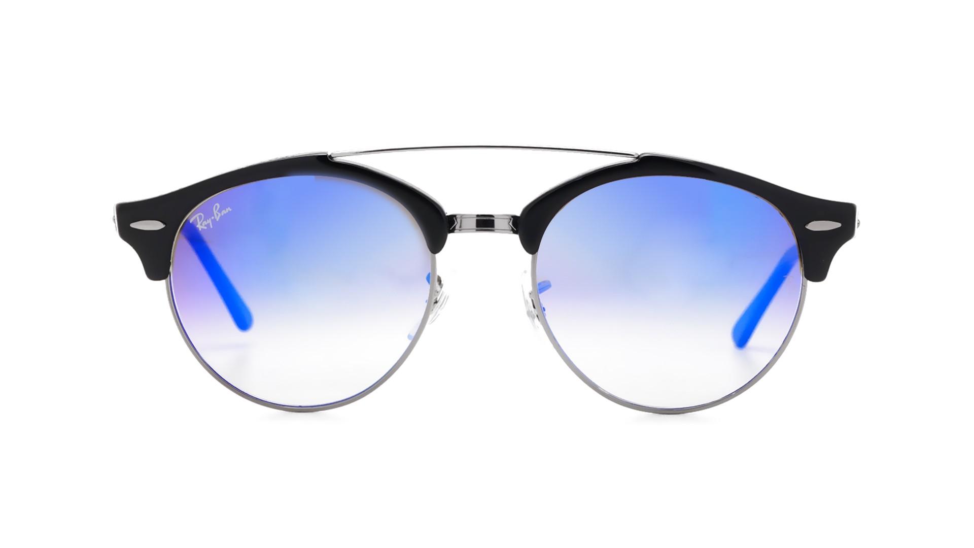 ray ban round double bridge blue sunglassessale. Black Bedroom Furniture Sets. Home Design Ideas
