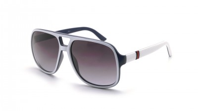 Gucci GG1115S M2490 59-15 Blanc Mat 175,75 €
