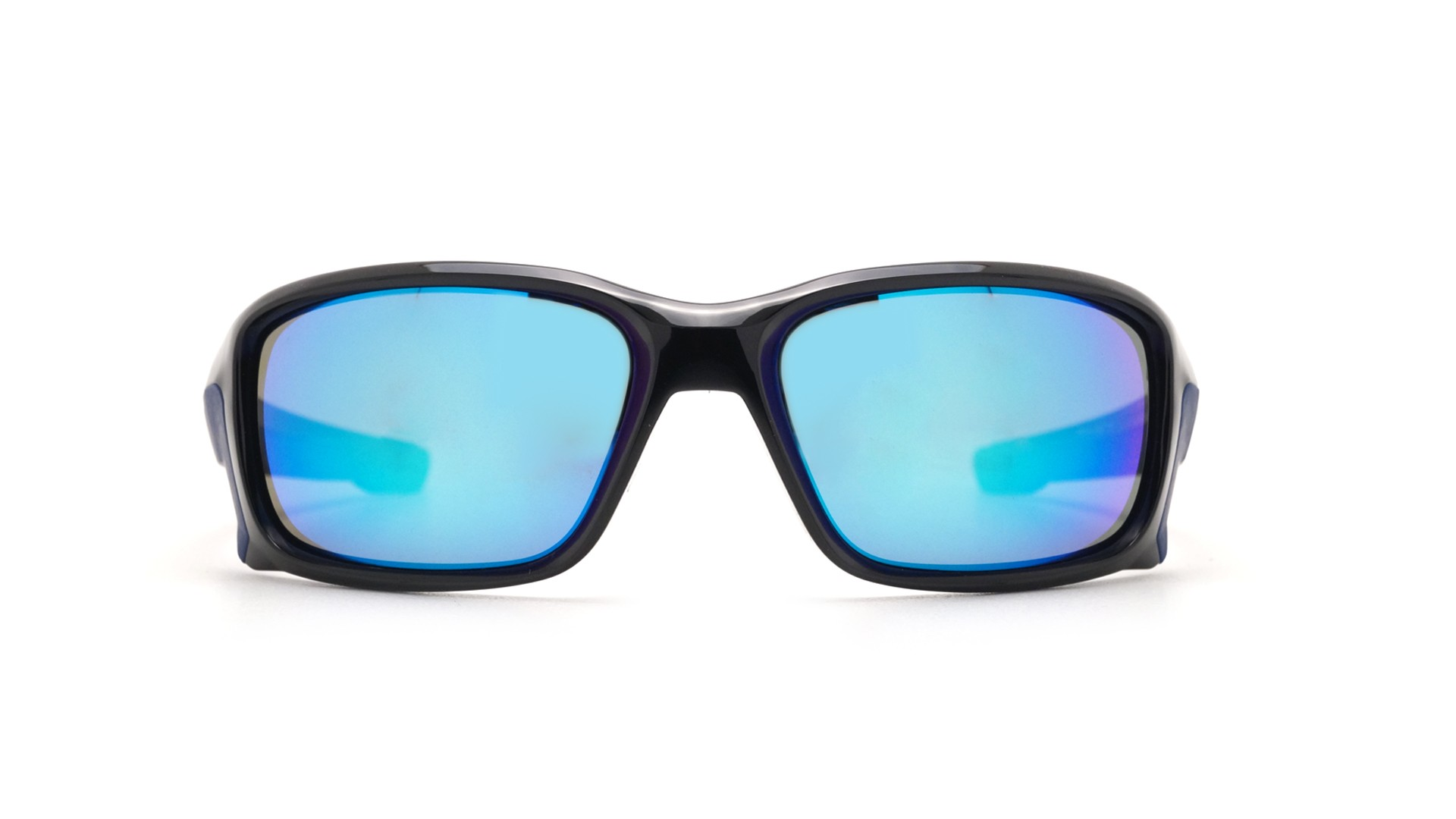 black and blue oakley sunglasses d1xw  Oakley Straightlink Polished black 009331 04 61-17  Visiofactory