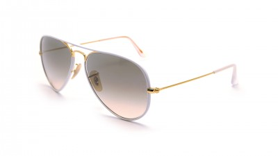 Ray-Ban Aviator Full Color Blanc RB3025JM 146/32 55-14 100,75 €