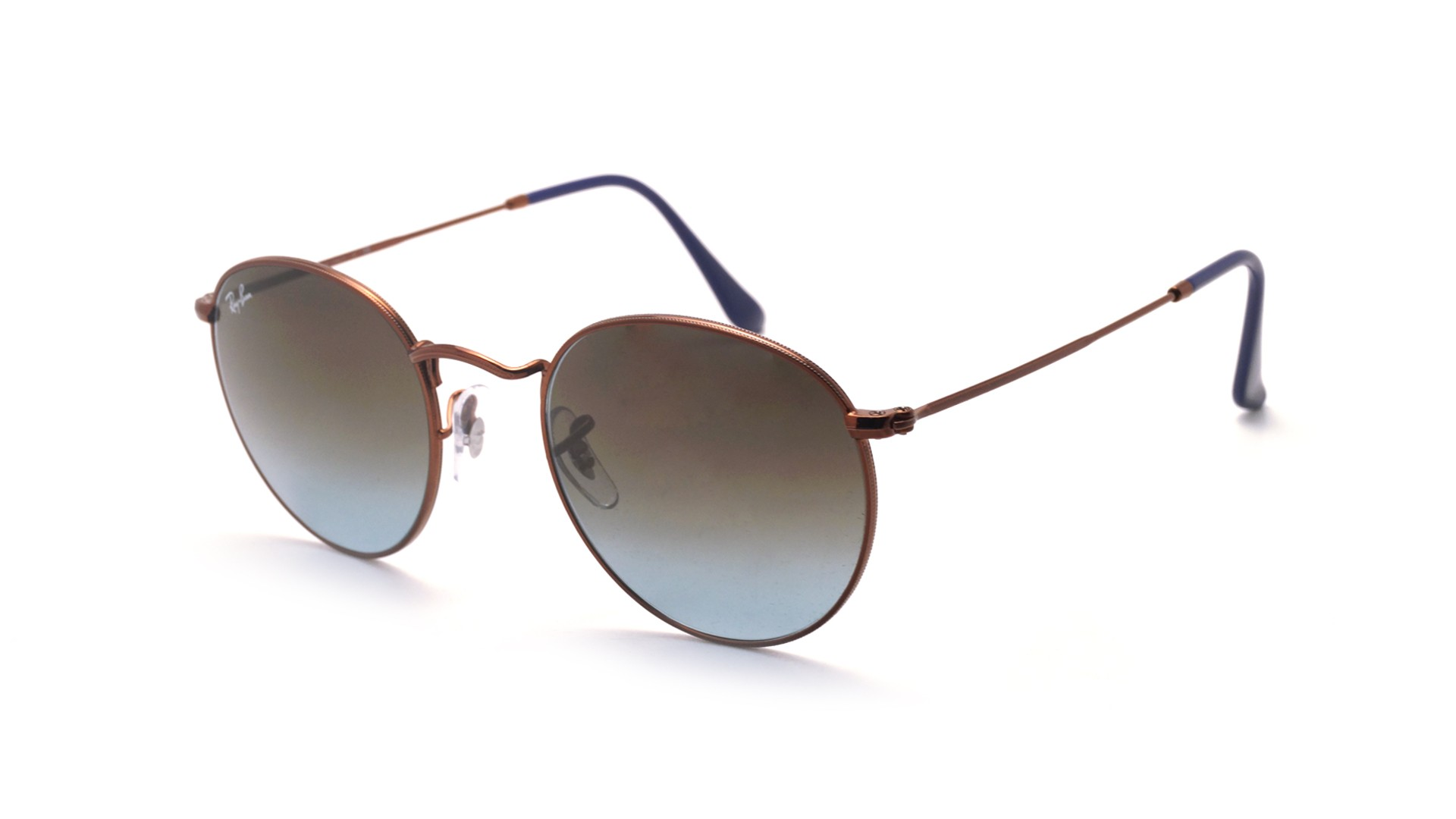 f93dae5c1c ... Ray-Ban Round Metal Brown RB3447 9003 96 50-21 Gradient