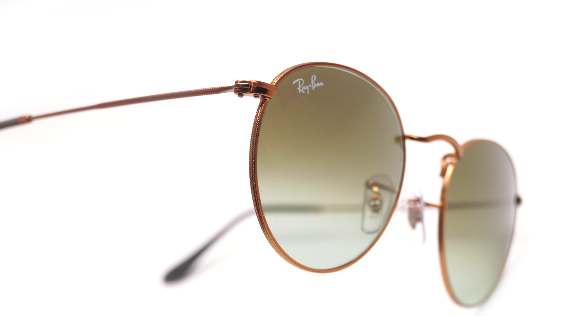 e5d6428f6f Ray Ban Round Pink brown Gradient Lenses - Bitterroot Public Library