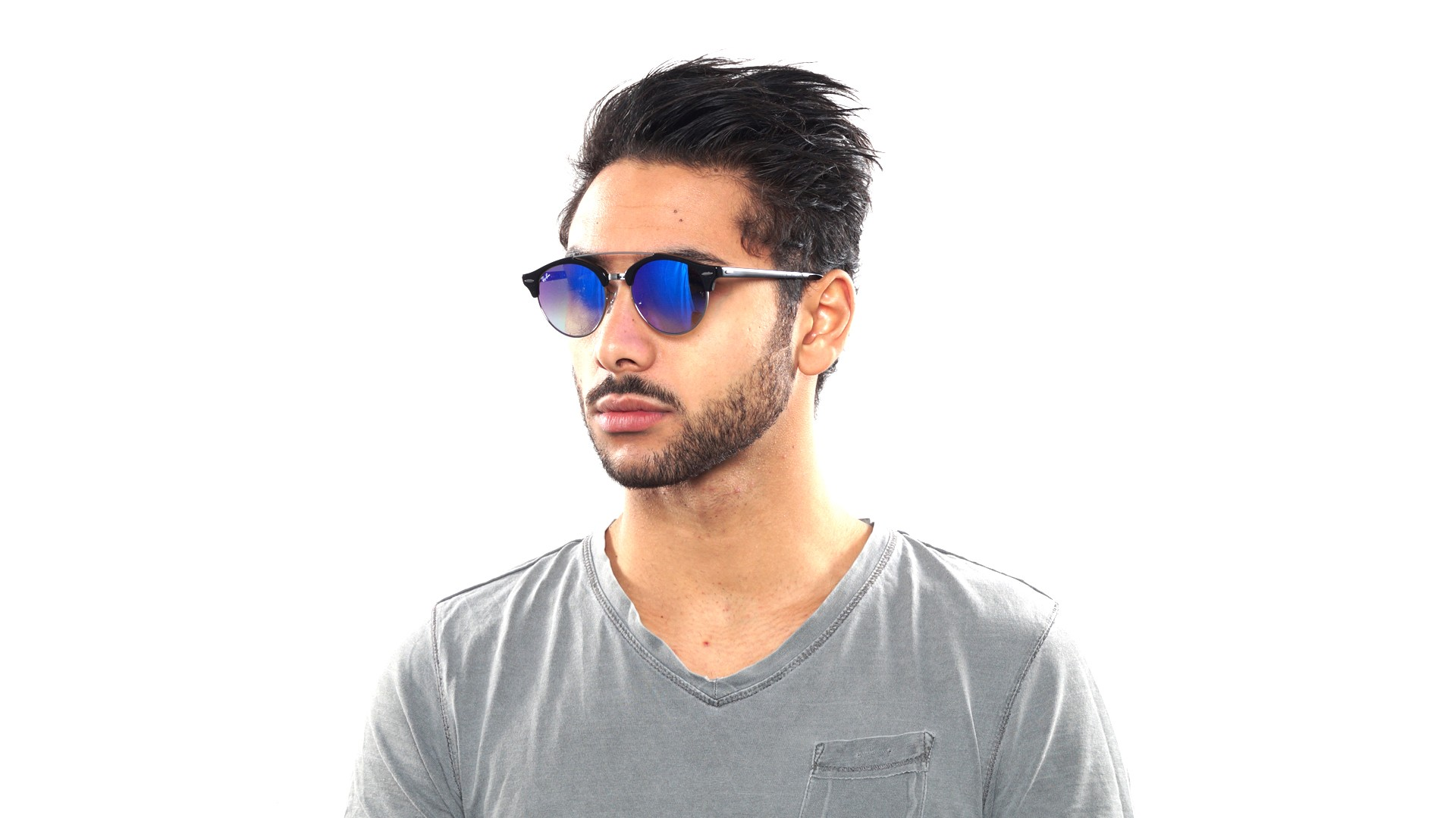 7f2df116a2 Ray Ban Clubround Double Bridge Rose