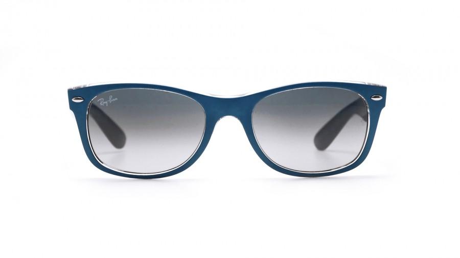 1c2f0332ca Ray-Ban New Wayfarer Blue RB2132 619171 52-18