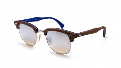 Ray-Ban Clubmaster Wood Brown Matte RB3016M 12179U 51-21 155,83 €
