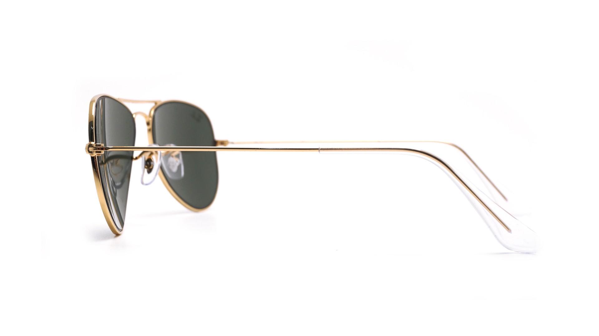 ray ban aviator g 15  Ban Aviator Gold RB3044 L0207 52-14