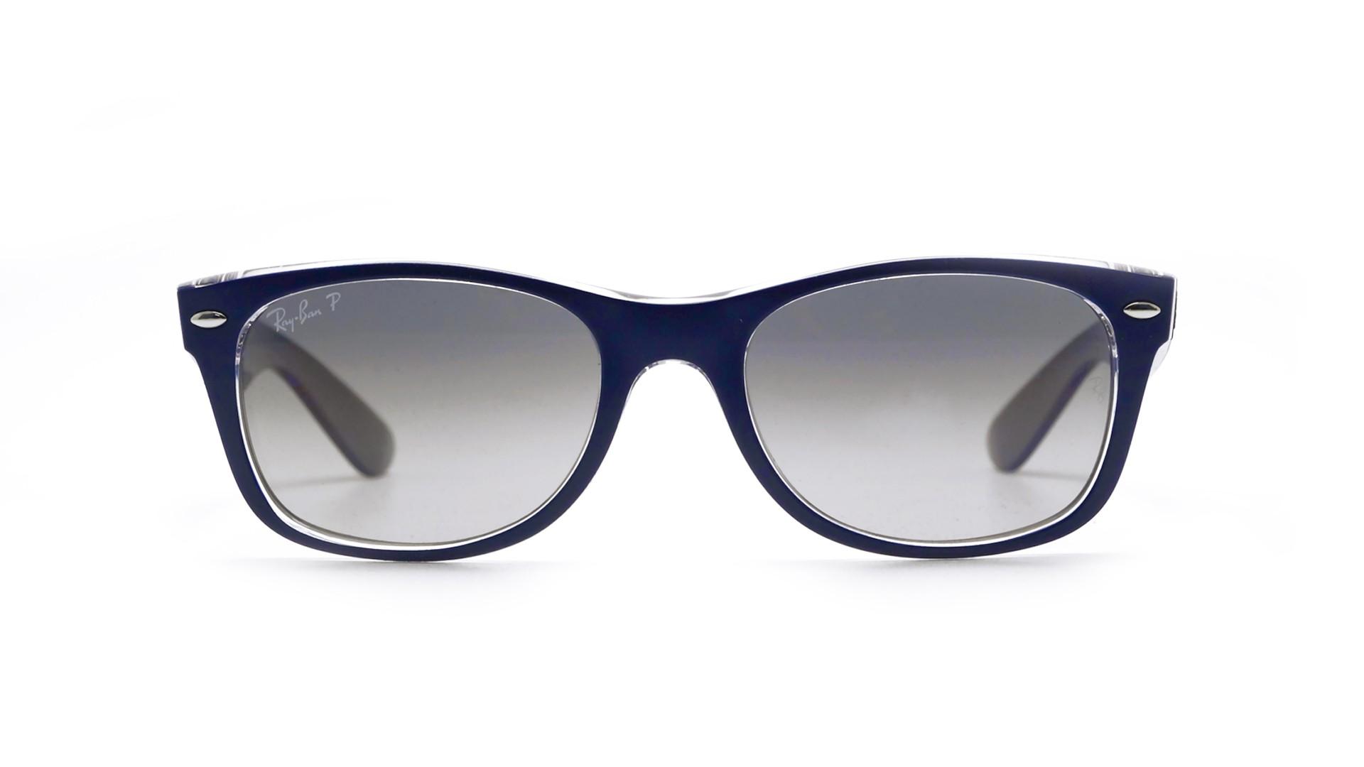 1b9789992f55 Ray Ban New Wayfarer Polarized Blue