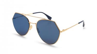 Fendi Eyeline Gold FF 0194/S 0002A 55-19 198,25 €