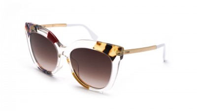 Fendi Jungle Clear FF 0179/F/S TKWK8 55-18 Gradient 239,08 €