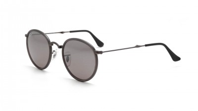 Ray-Ban Round Metal Grey Matte RB3517 029/N8 51-22 Folding Polarized 130,75 €