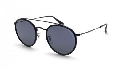 Ray-Ban Round Double Bridge Noir RB3647N 002/R5 51-22 83,25 €