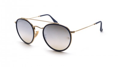 Ray-Ban Round Double Bridge Or RB3647N 001/9U 51-22 91,58 €