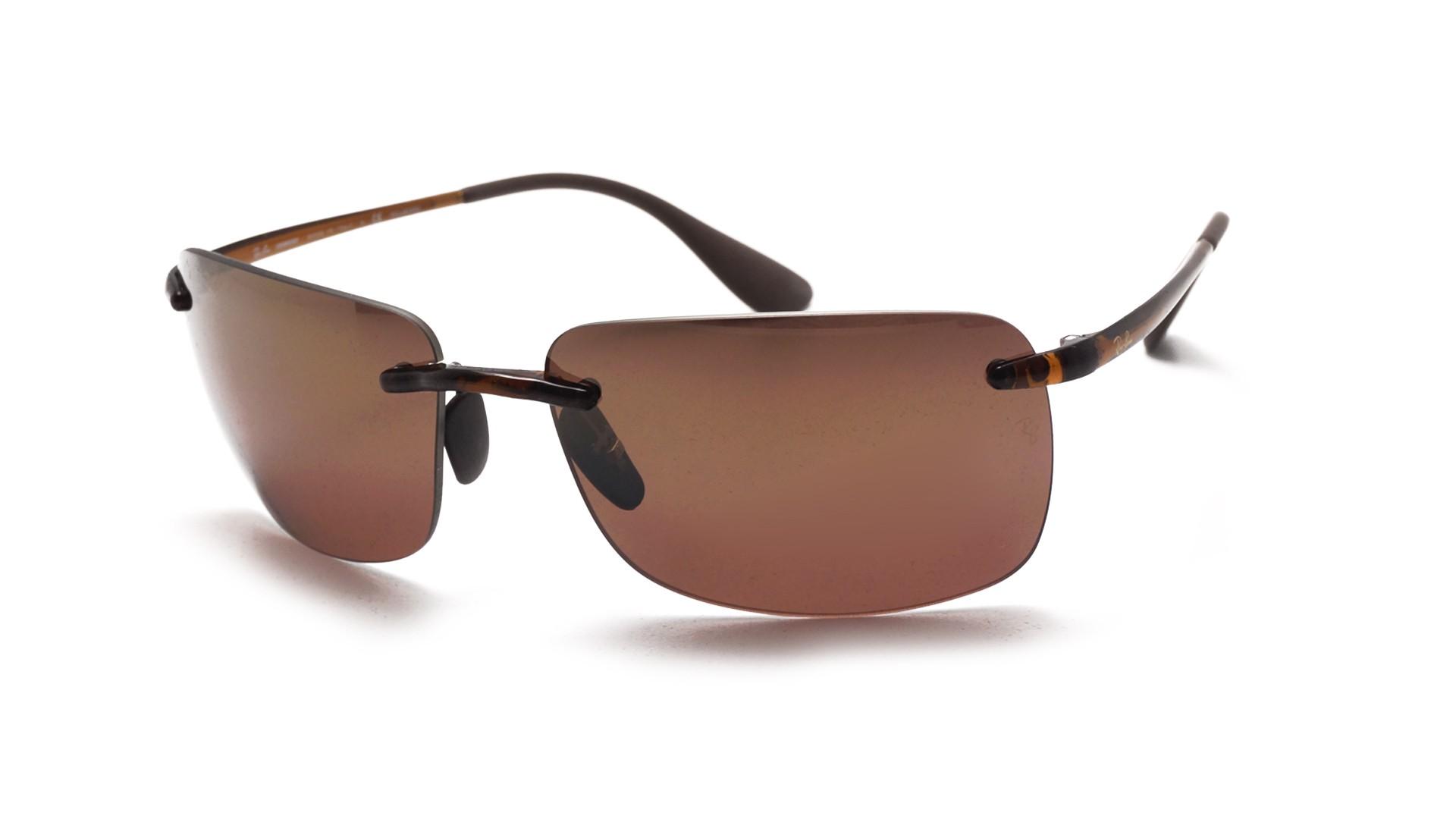 4e65ccc0ba4 Ray-Ban Tech Chromance Brown RB4255 604 6B 60-15 Polarized .. Sunglasses ...