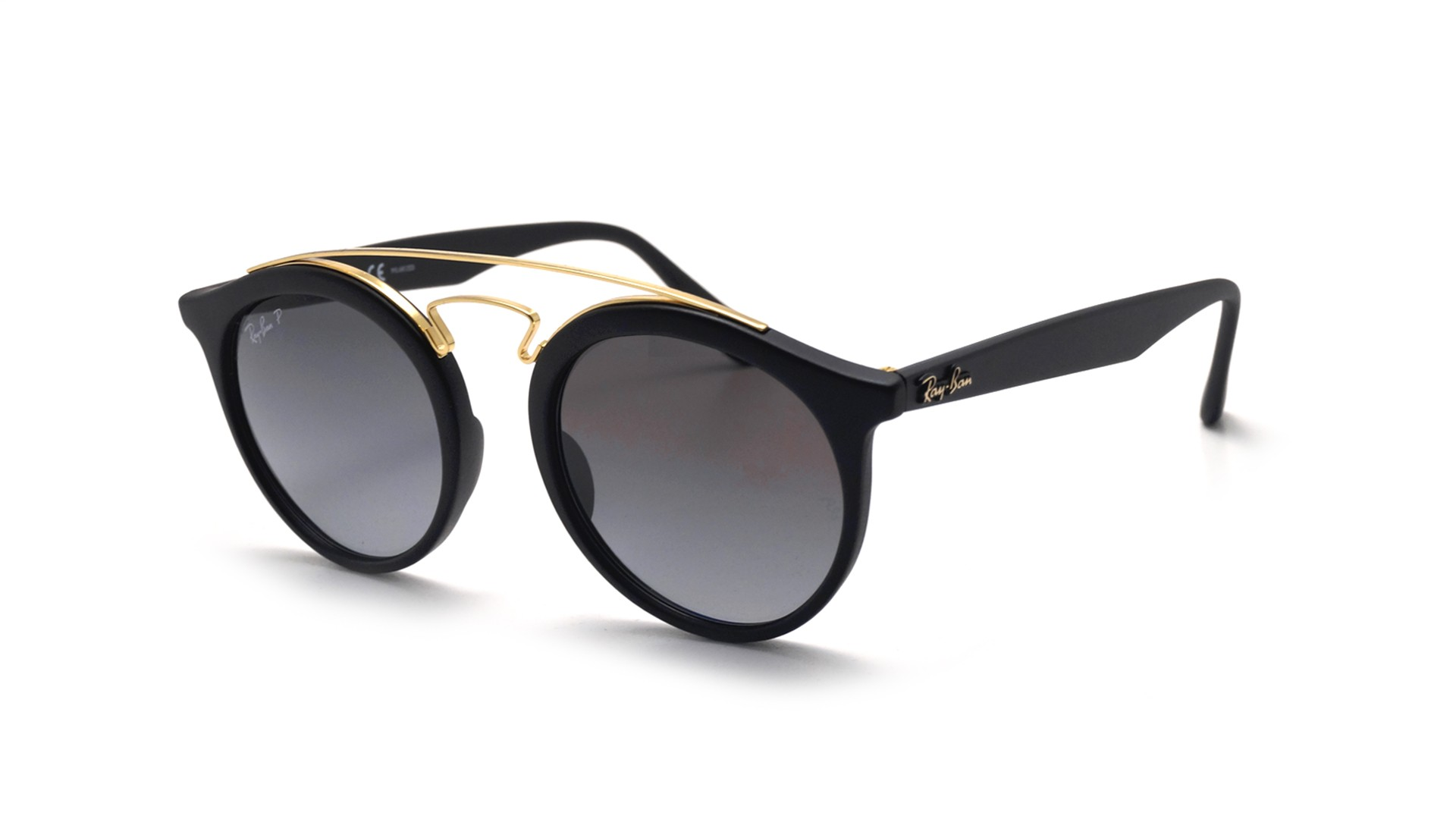 Ray-Ban New gatsby Black Matte RB4256 601ST3 49-20 ...