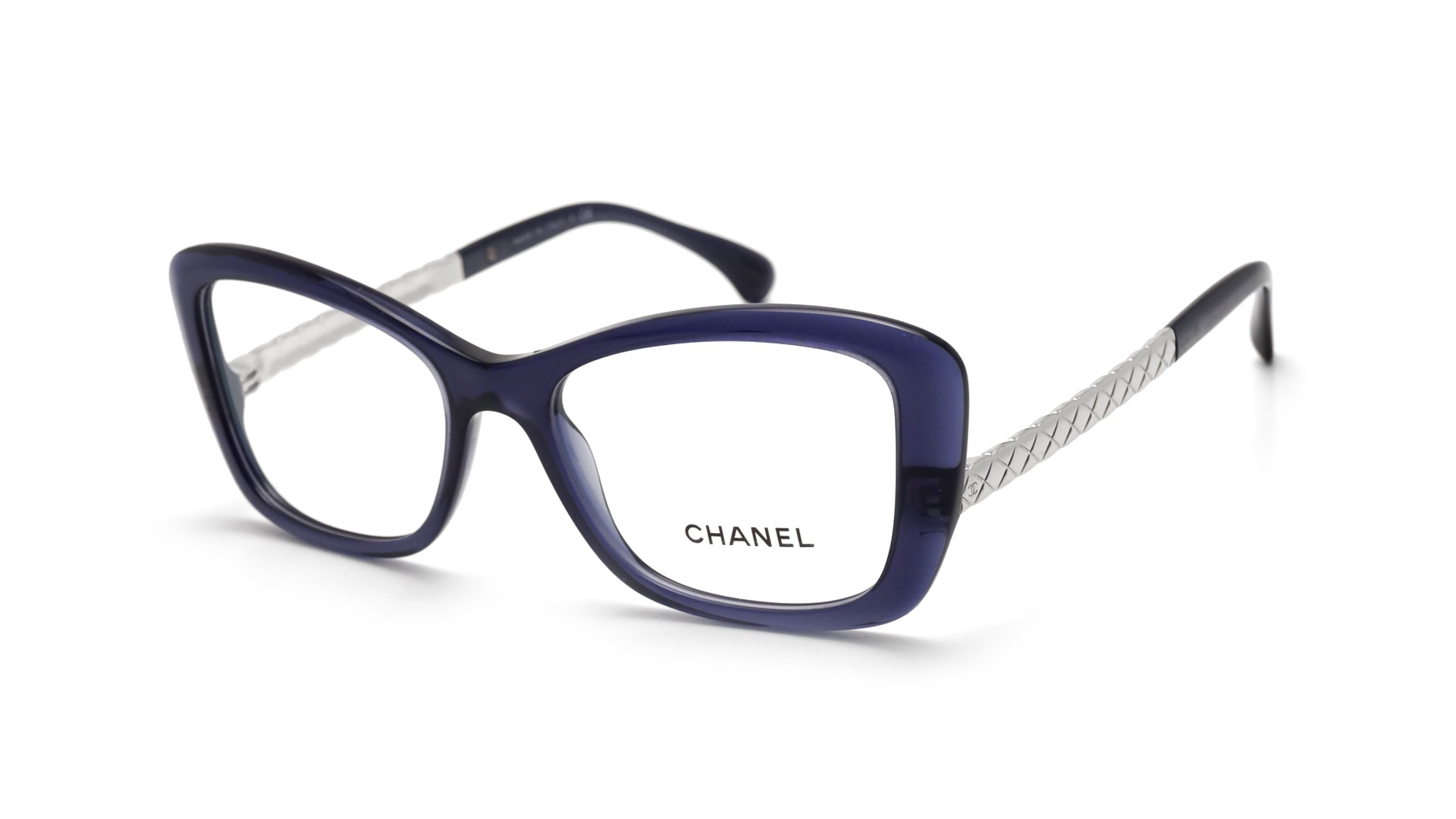 chanel matelass 233 blue ch3358 1390 53 17 visiofactory