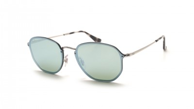 Ray-Ban Hexagonal Blaze Argent RB3579N 003/30 58-15 94,92 €