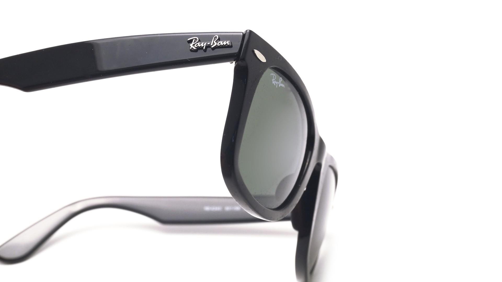 6d40e58f99 ... discount ray ban wayfarer ease black rb4340 601 50 22 visiofactory .  470df 26d56