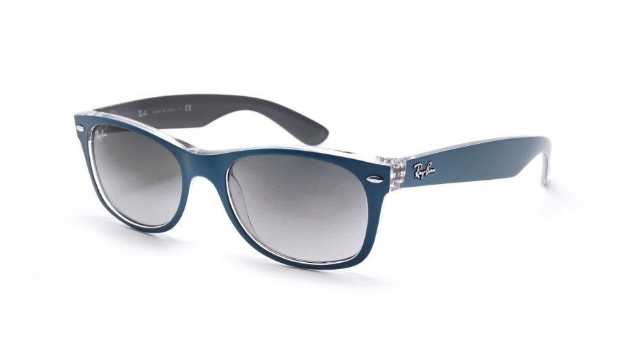 ray ban - new wayfarer - rb2132 - bleu