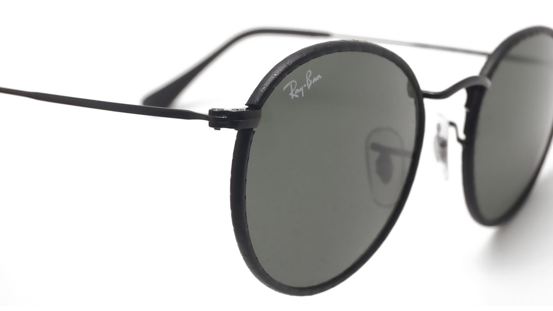 Ray ban round craft black rb3475q 9040 50 21 visiofactory for Ray ban round craft