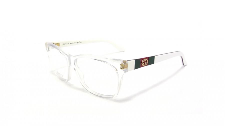 White Gucci Eyeglass Frames : Gucci GG 3543 5LO Blanc