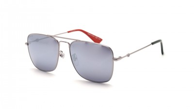 Gucci GG0108S 005 55-16 Argent 208,25 €