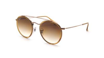 Ray-Ban Round Double Bridge Brun RB3647N 9070/51 51-22 86,58 €