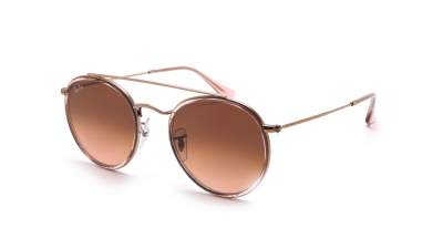 Ray-Ban Round Double Bridge Rose RB3647N 9069/A5 51-22 86,58 €