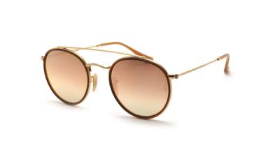 Ray-Ban Round Double Bridge Or RB3647N 001/7O 51-22 91,58 €