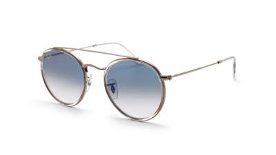 Ray-Ban Round Double Bridge Clear RB3647N 9068/3F 51-22 86,58 €